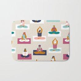 Morning yoga Bath Mat