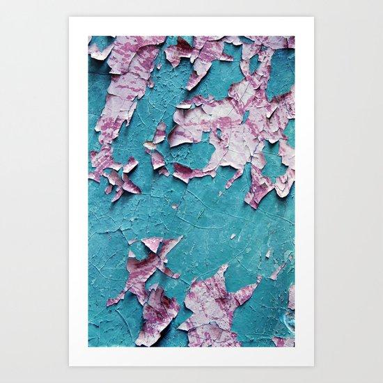 déchiré Art Print