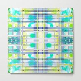 THE WINDOW IN BLUE LIGHT Metal Print