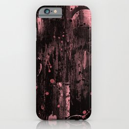 Pink is the New Grunge iPhone Case