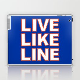 LIVE LIKE LINE Volleyball Laptop & iPad Skin
