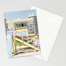 Miami Beach Tower Stationery Cards