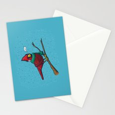 Annoyed IL Birds: The Cardinal Stationery Cards