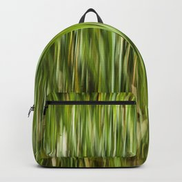 Abstracted Water Grasses in Jackson Park Backpack