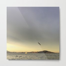 San Francisco Sunset Metal Print