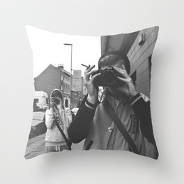 I'm Watching You. Throw Pillow