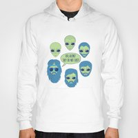aliens Hoodies featuring aliens by gotoup