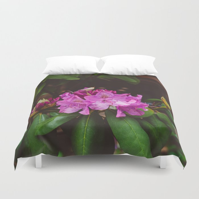 Brooklyn Heights Blooms II Duvet Cover
