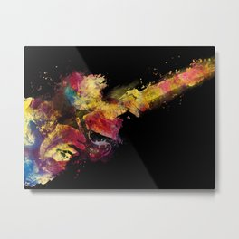 guitar art 8 #guitar #art #music Metal Print