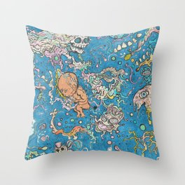 Cosmic Mindspace Throw Pillow