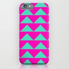 Neon Pink & Aqua Slim Case iPhone 6s