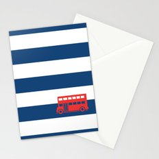 British Double Decker Bus Stationery Cards