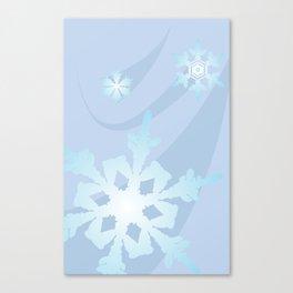 Winter Flakes Canvas Print
