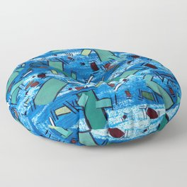 Undefined Time Floor Pillow
