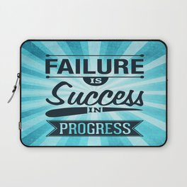 Failure Is The Condiment Inspirational Motivational Quote Design Laptop Sleeve