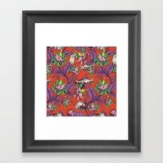 The Sea Garden Framed Art Print