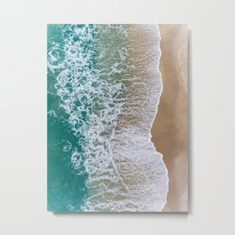 Surf II Metal Print