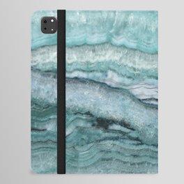Mystic Stone Aqua Teal iPad Folio Case