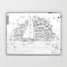 La Citta' sul mare Laptop & iPad Skin