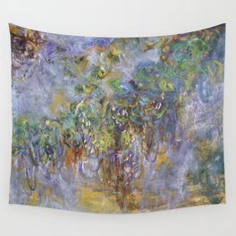 """Claude Monet """"Wisteria"""", 1919-1920 Wall Tapestry"""