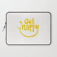 Get Happy! Laptop Sleeve
