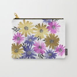 Flower Cluster Carry-All Pouch