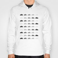 cars Hoodies featuring dreamy cars by Steffi Louis