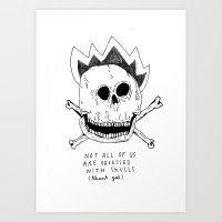 GETTING RID OF PUNK-ROCK MYTHS #1 Art Print