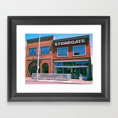 Stonegate architecture Framed Art Print