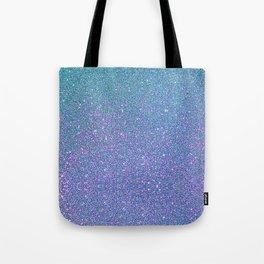 BLUE GLITTER Tote Bag