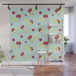 Fuchsia flowers Wall Mural