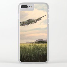 B-17 Flying Fortress Aircraft Clear iPhone Case