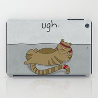 caleb troy iPad Cases featuring Crunch Cat by Caleb Croy by UCO Design