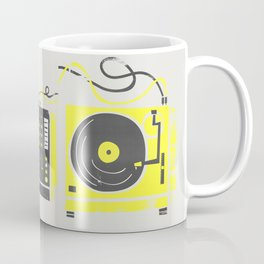 DJ Vinyl Decks And Mixer Coffee Mug