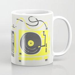 DJ Vinyl Decks And Mixer Coffee Mug