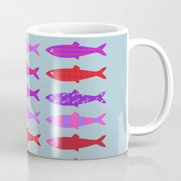 Colorful fish school pattern Coffee Mug