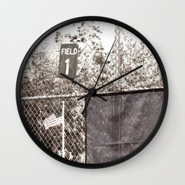 Field 1 Wall Clock