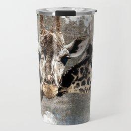 Snuggle Bug Giraffes Travel Mug