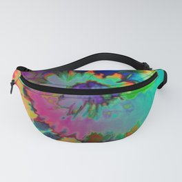 Inhale: A pretty minimal piece with bits of pinks, blues, greens, and yellows to your hearts content Fanny Pack