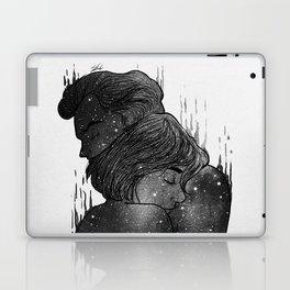 Growing Love black and white. Laptop & iPad Skin