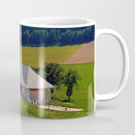 Hiking trail, farm house and scenery | landscape photography Coffee Mug