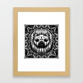 Pugus Rex Framed Art Print