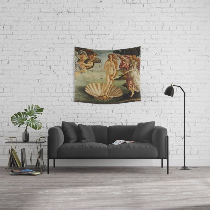 The Birth of Venus by Sandro Botticelli Wall Tapestry
