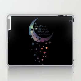 Stars I can't fathom into constellations Laptop & iPad Skin