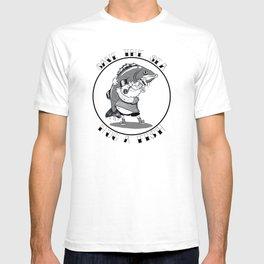 save the sea hug a fish T-shirt