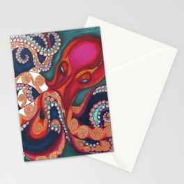 Octavia The Kraken Stationery Cards