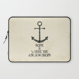 Where The Anchor Drops Laptop Sleeve