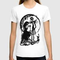 nightmare before christmas T-shirts featuring A Nightmare Before Christmas by iankingart
