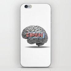 Open mind iPhone & iPod Skin