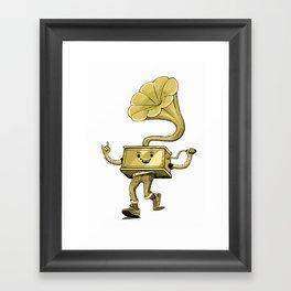 gramaphone Framed Art Print